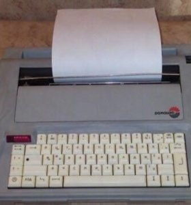 Электронная пишущая машинка