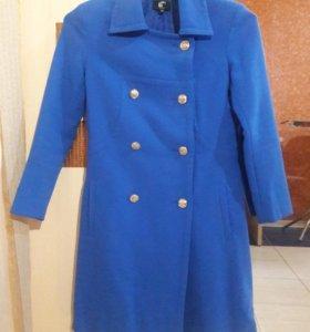 Голубое пальто lady & gentleman CITY