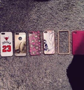 Чехлы на iPhone 5, 5s, 5se