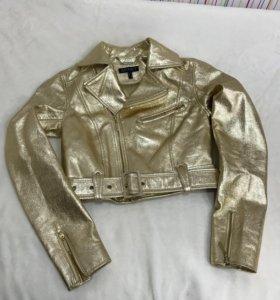 Кожаная куртка Apart