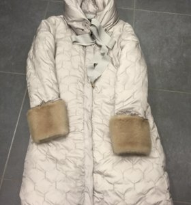 Blumarine пальто пуховик оригинал 44 it