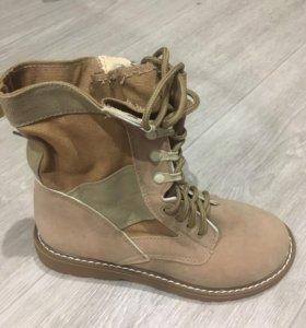 Ботинки осенним, новые