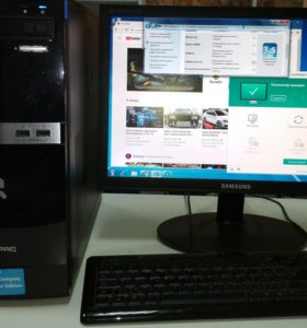 Компьютер фирменный HP
