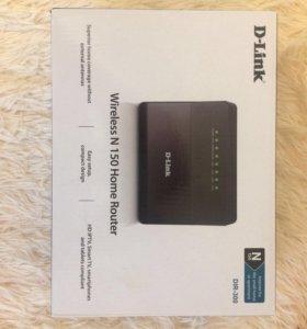 WiFi роутер D-link (wireless N 150 home router