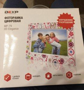 Электронная фоторамка DEXP 7
