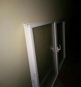Продам алюминиевые рамы от балкона