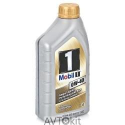 моторное масло Mobil 1 0W-40 1 литр