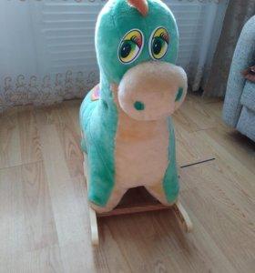 Качалка - динозаврик