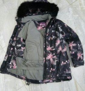 Куртка дев. зима