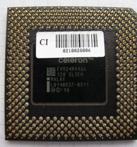 Процессор Intel Celeron FV524RX466.