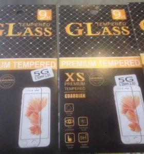 Защитные стекла для Айфона 5-5s!