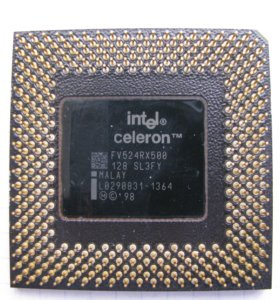 Процессор Intel Celeron FV524RX500.