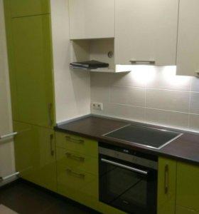 Установка бт и кухонной мебели