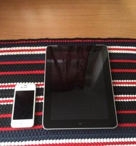 Айфон 4s(16гб), Айпад 1(16гб)