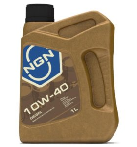 Масло полусинтетическое NGN 10W-40 DIESEL CF/SL1л