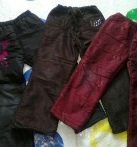 Болоневые штаны на возраст 4-5 лет