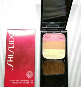 Румяна Shiseido Face Color Enhancing Trio RS1