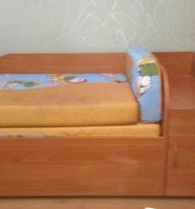 Кровать детская раздвижная