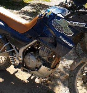 Продам мотоцикл kawasaki kle 250 anhelo 1996года