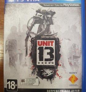 Игра для PS Vita Unit 13
