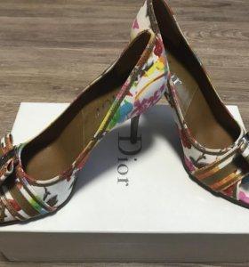 Туфли женские Dior пр -во Италии