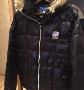 Новая зимняя куртка adidas