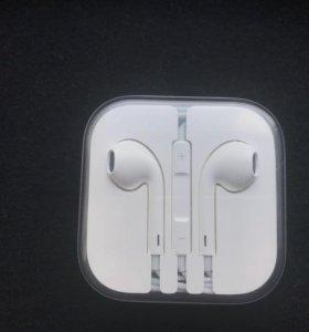 Наушники на Айфон EarPods с разъёмом 3,5 мм