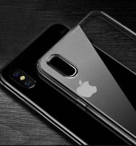 Силиконовый чехол на iPhone X/7/8/7+/8+