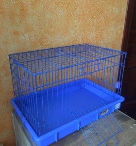 Клетка для грызунов 37х55, высота 35