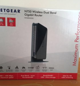 Netgear WNDR4000 Маршрутизатор беспроводной