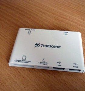 Картридер Transcend TS-RDP7W