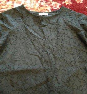 Гипюровое платье 44-46 размер