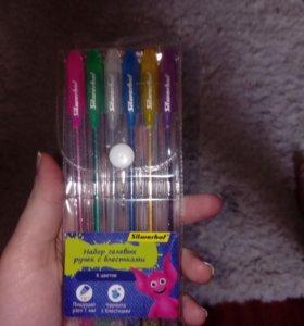 Гелевые ручки с блестками