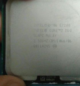 Процессор Intel core 2 Duo E7200 2.5Ghz