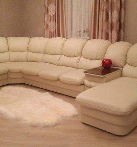 Модульный диван (нат.кожа)