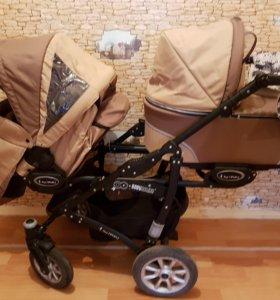 Коляска для двойни и погодок Baby activ twinny