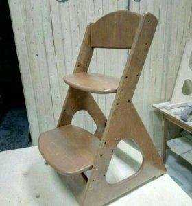 Растущий детский стульчик