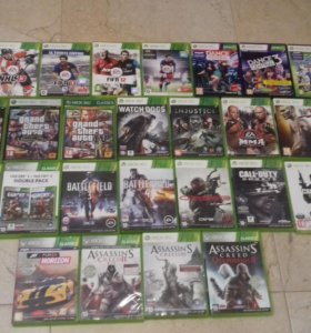 Лицензионные диски для Xbox360