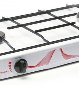 Газовая плита настольная MAXTRONIC 2 конфорочная.
