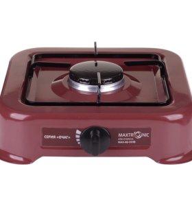 Газовая плита MAXTRONIC одноконфорочная.