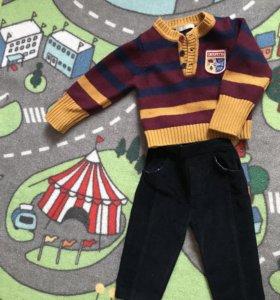 Продам свитер и брюки (вещи фирменные)
