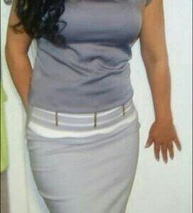 Блузка и юбка...