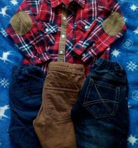 Набор одежды для мальчика.