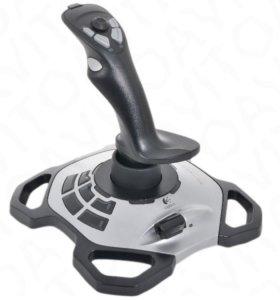 Продам Джойстик Logitech Extreme 3D Pro серебристы
