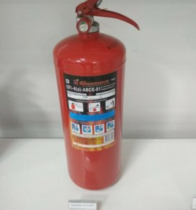 порошковый огнетушитель ОП 4(з) ABCE