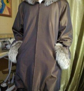 Зимняя куртка (пихора) на натуральном меху