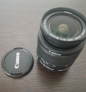 Объектив Canon EF-S 18-55 IS II