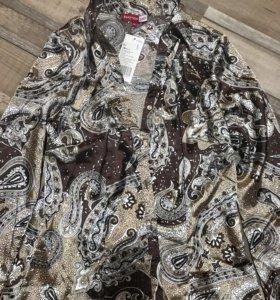 Женская рубашка женская блуза блузка р.44-46