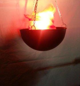 эффект имитация огня
