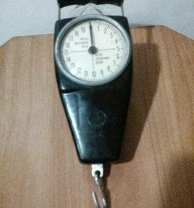 Весы-безмен бытовые до 20 кг.точные